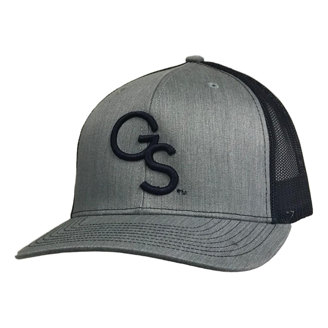 GS Trucker Hat Heather with Navy