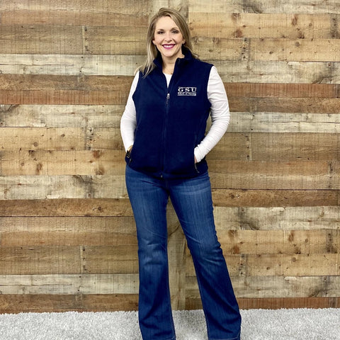 Georgia Southern Nursing Fleece Vest