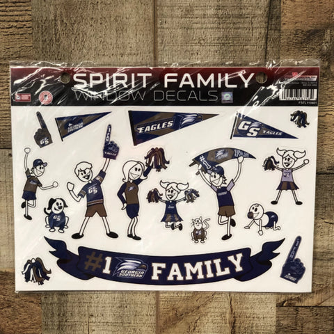 Georgia Southern Spirit Family Decals