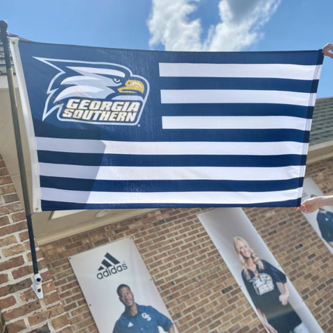 Georgia Southern Stars and Stripes 3x5 flag