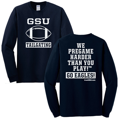 GSU Tailgating | Long Sleeve | Hail Southern T-Shirt | TrueGSU.com