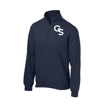 Fleece 1/4-Zip Pullover with GS