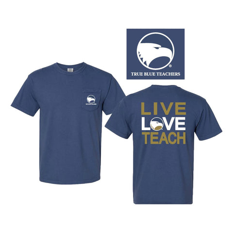 True Blue Teachers Live Love Teach