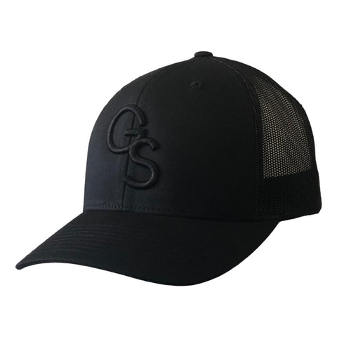 GS Trucker Hat Black on Black
