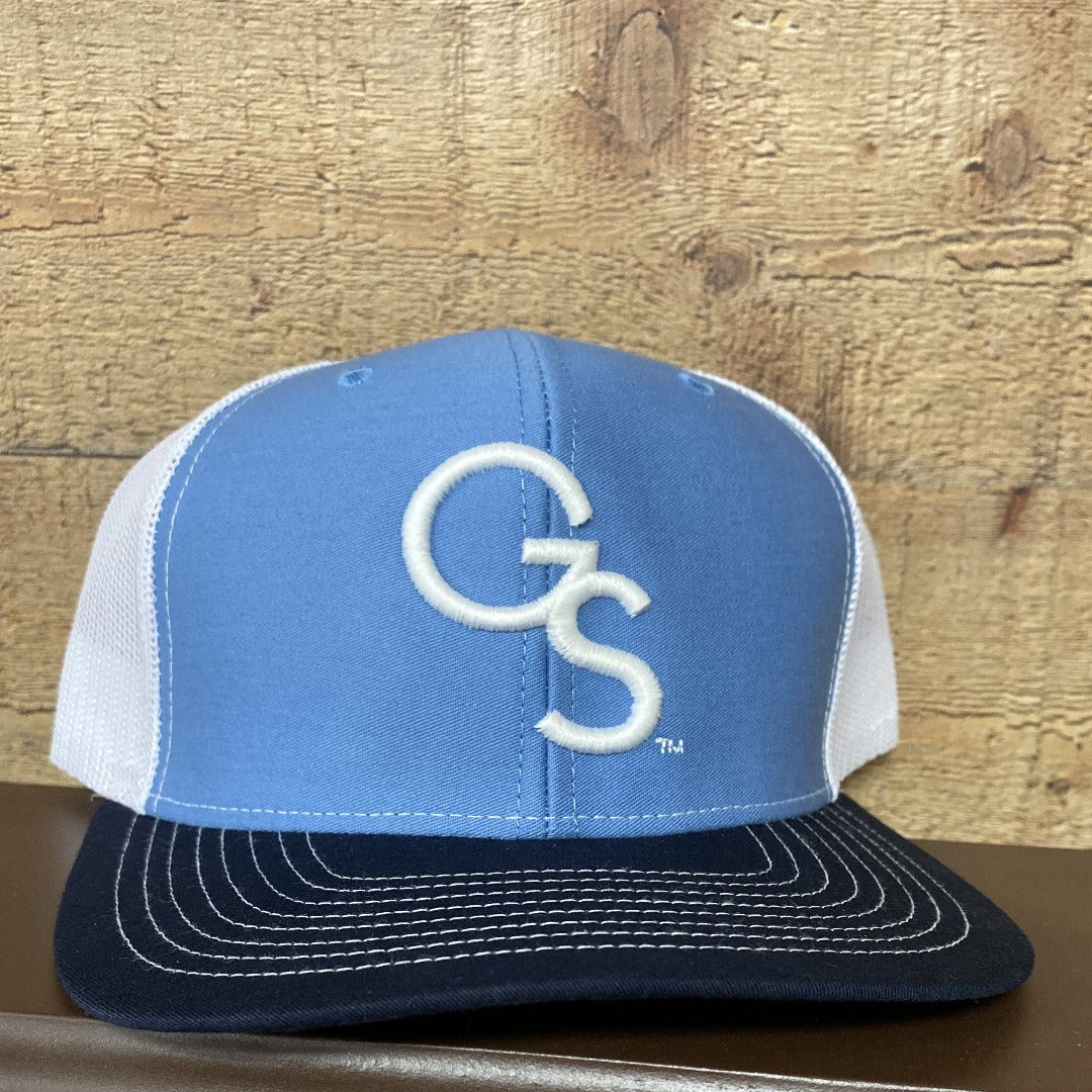 Columbia Blue/Navy Trucker Hat White GS