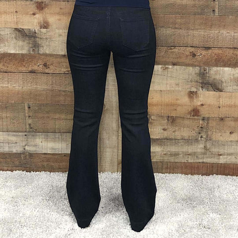 Cello Flare Jegging Dark Wash