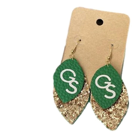 Luck 'o the Eagles GS Earrings