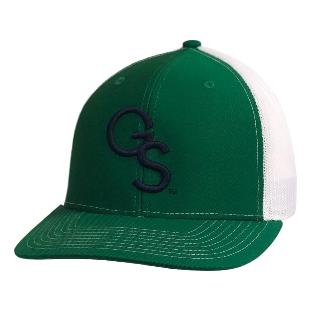 GS Trucker Hat Green with Navy