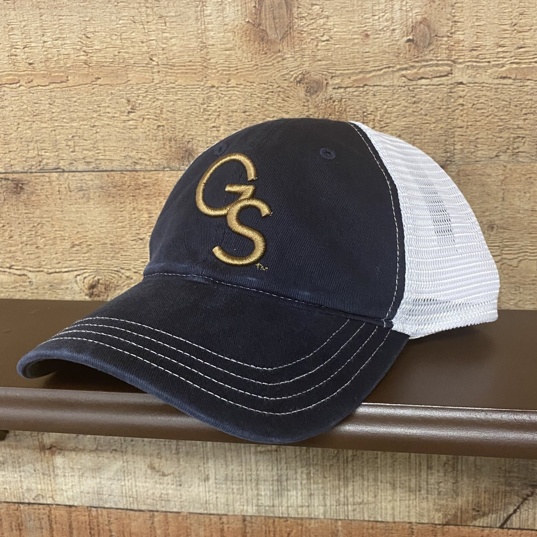 Navy/White Richardson Unstructured Gold GS Hat