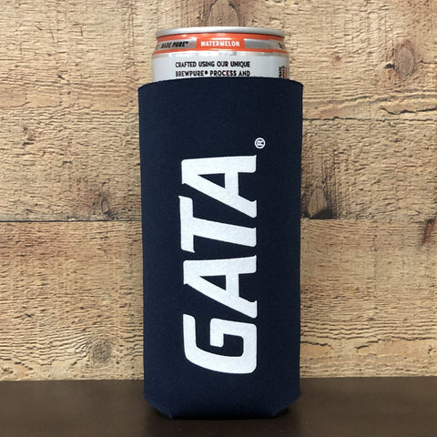 Georgia Southern Collapsible Premium Foam 12oz Skinny Can Koozie
