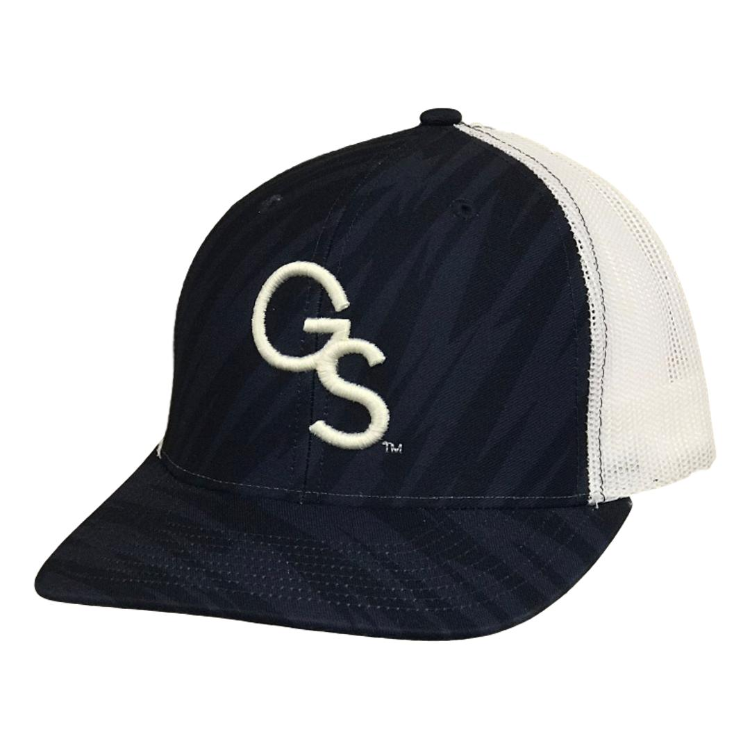 GS Trucker Hat Streak Navy Camo