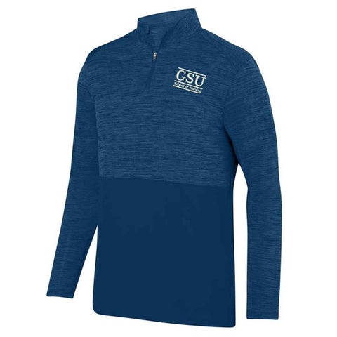 Georgia Southern Nursing Navy Shadow Heather 1/4 Zip Pullover