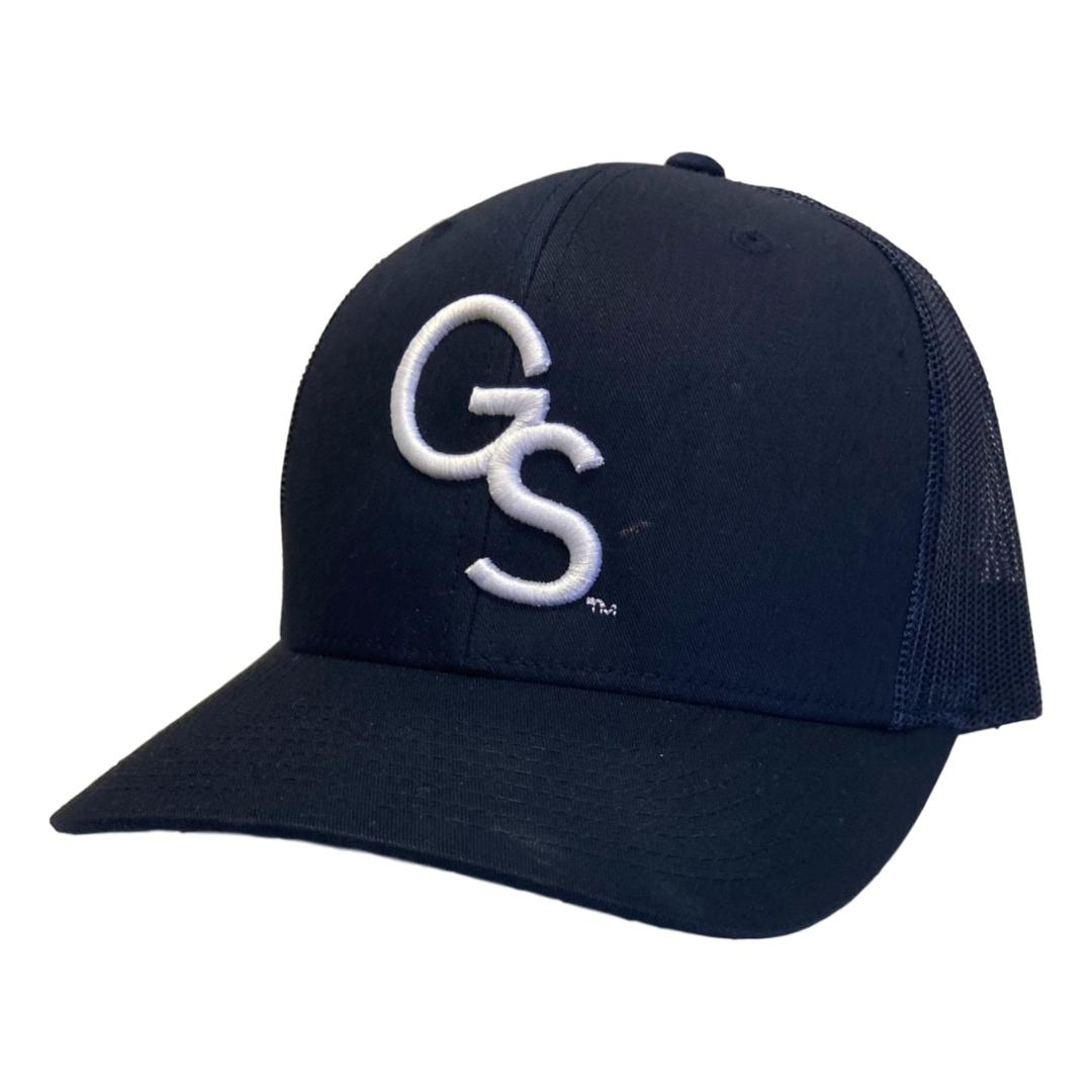 All Navy Trucker Hat with White GS