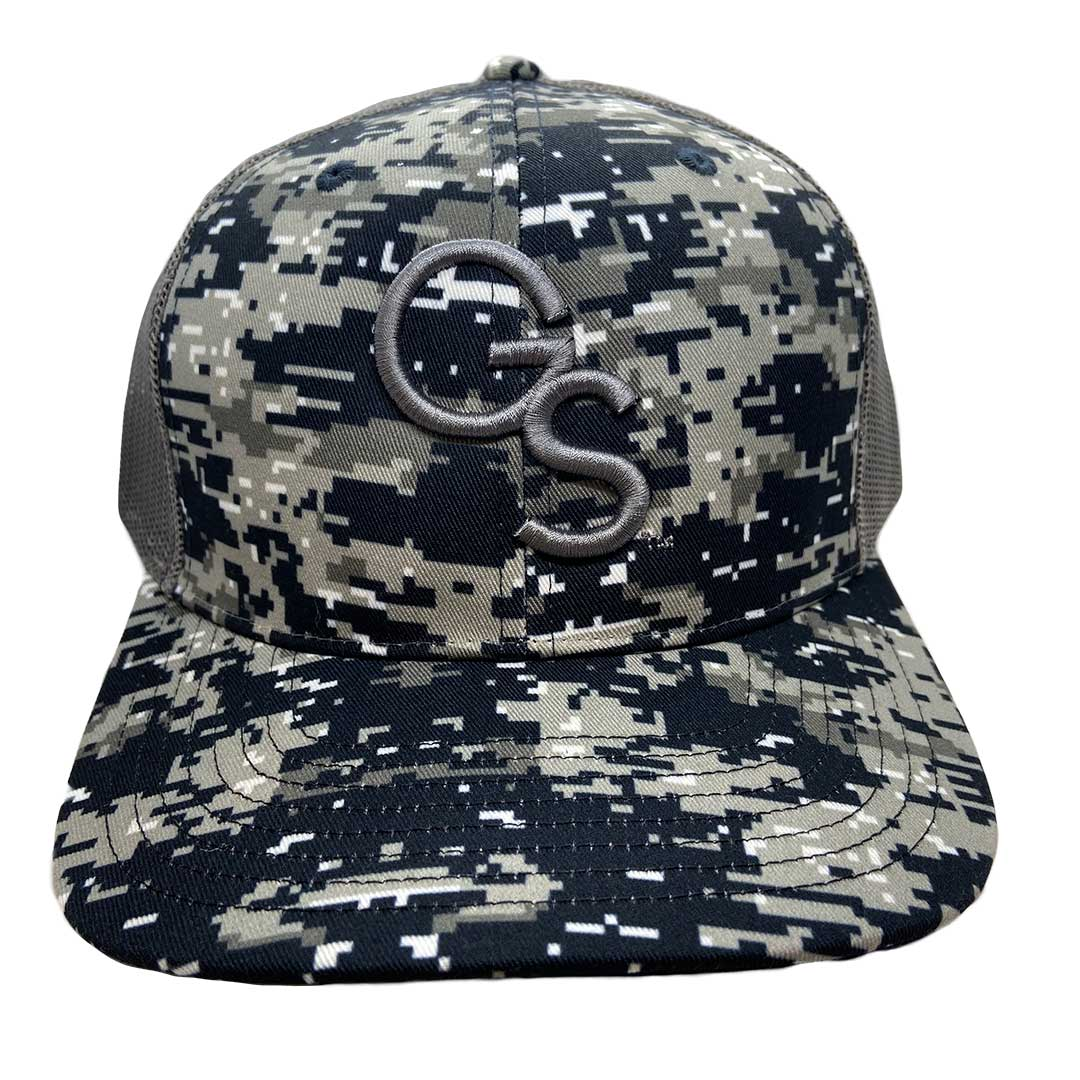 GS Trucker Hat Navy Digital Camo