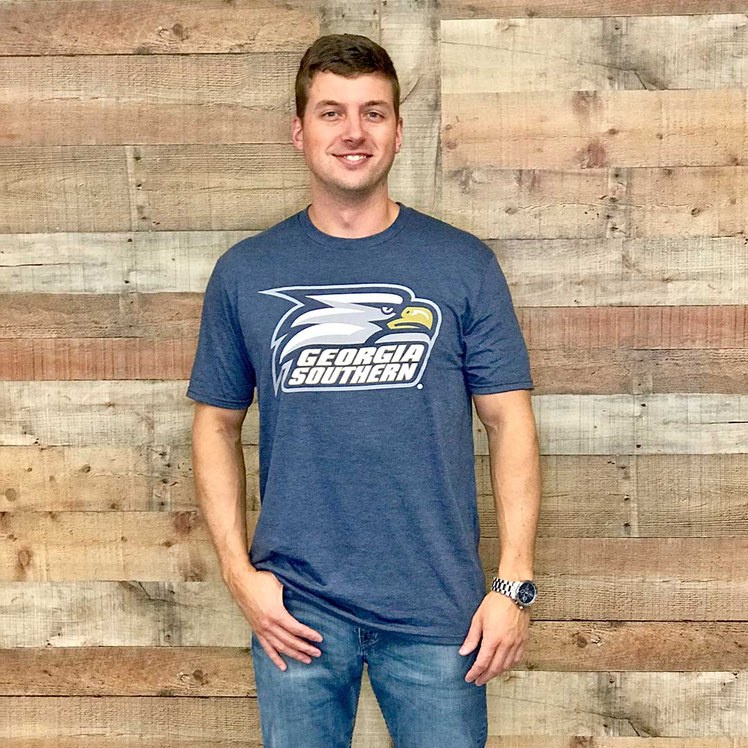 Georgia Southern Athletic Logo Triblend t-shirt