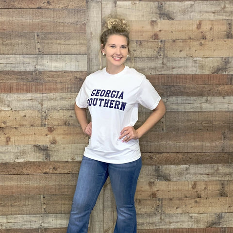 Georgia Southern Comfort Color T-Shirt White