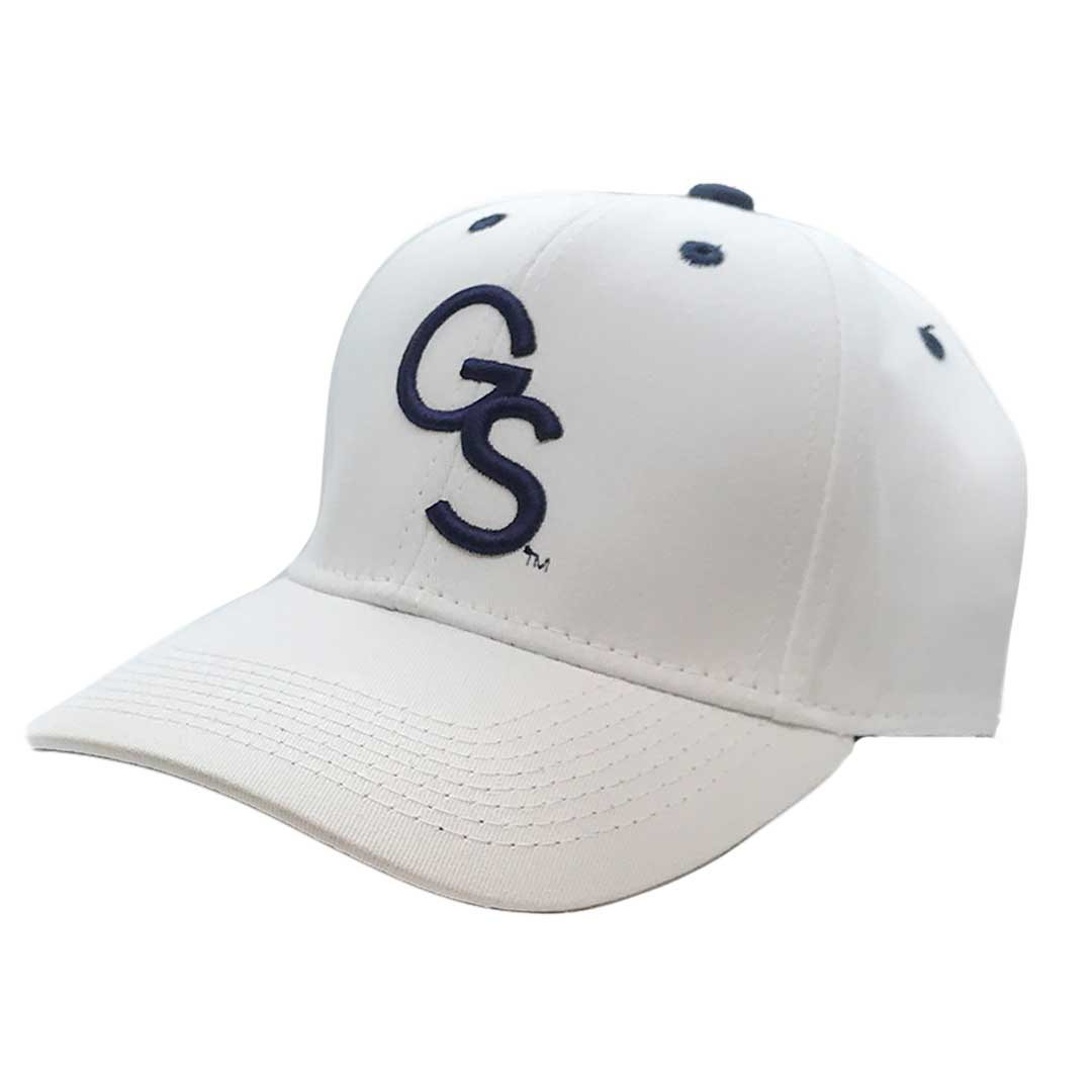 The Game White Snapback Navy GS