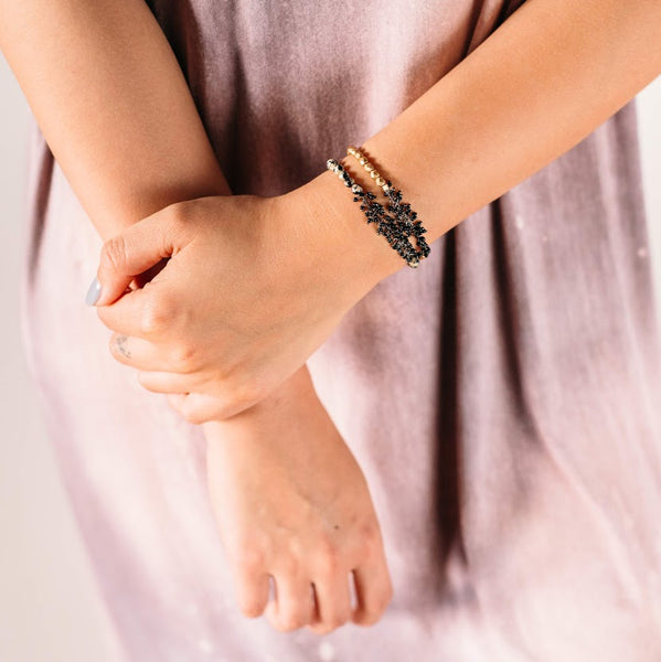Soiree Black Middle Bracelet