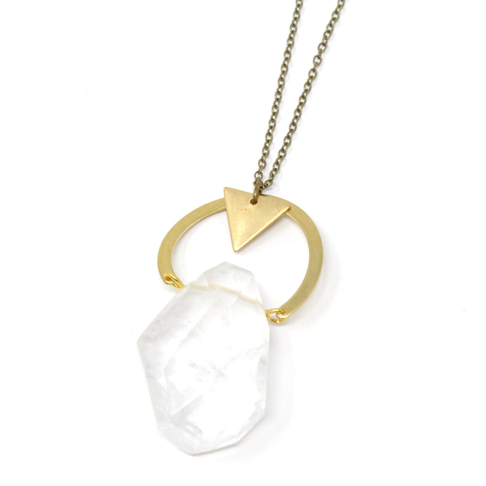 Celeste Necklace - Clear