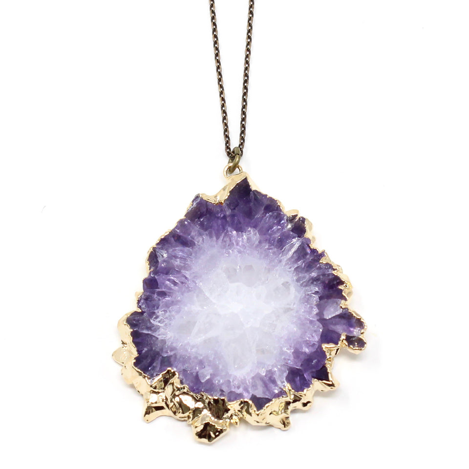 Fancy Geode Necklace