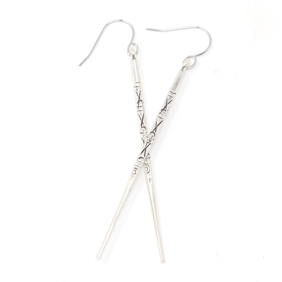 Finn Earrings - Silver