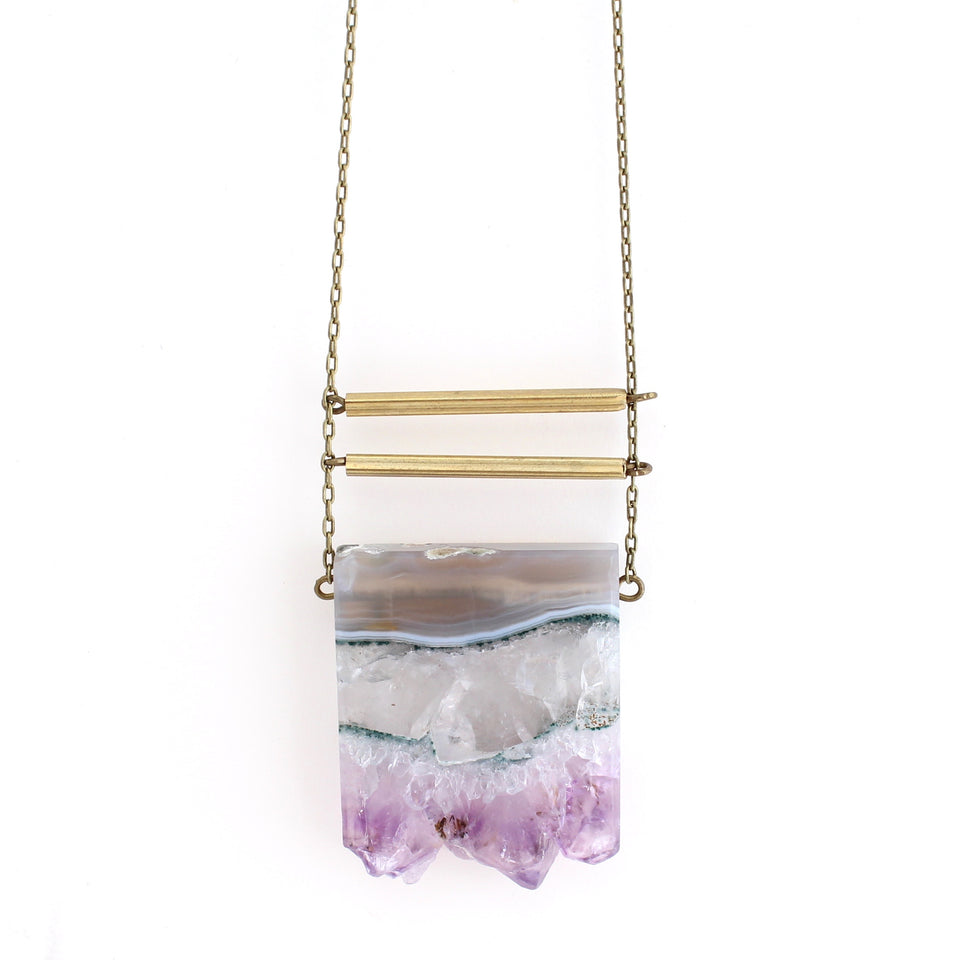 Eliza Necklace - Amethyst