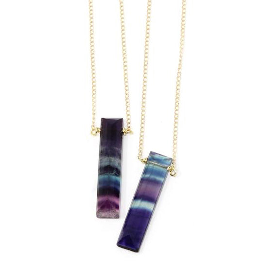 Gem Necklaces - Rainbow