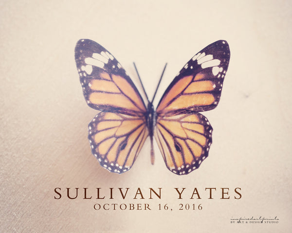 Butterfly Home Decor - Personalized Print