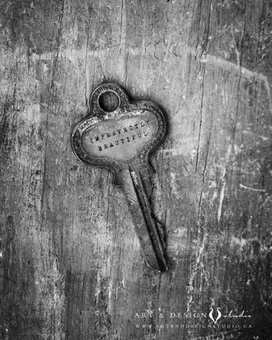 IMPERFECTLY beautiful  KEY PRINT