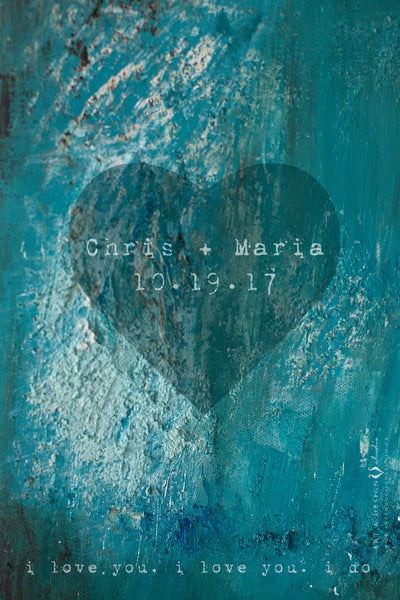 personalized-blue-abstract-painting-with-heart