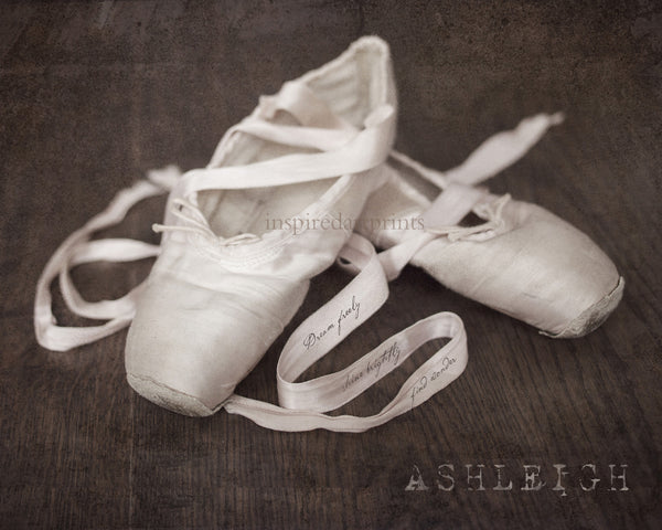 Ballet Slippers Dance Art