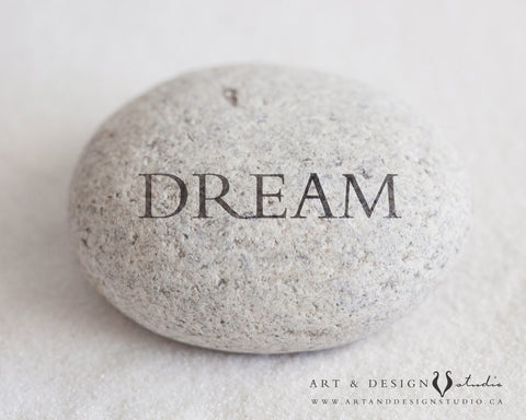 Dream - Engraved Rock Art Print
