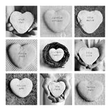 Heart Stone personalized art print wall d_cor inspiredartprints inspired art prints custom photo gifts