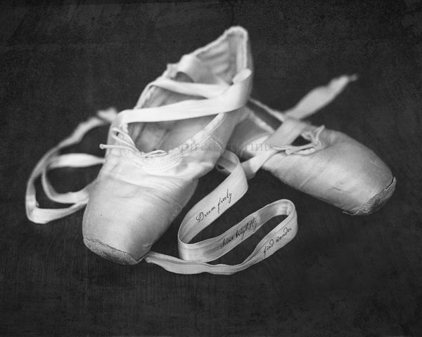 Ballet Slippers Dance Art Print