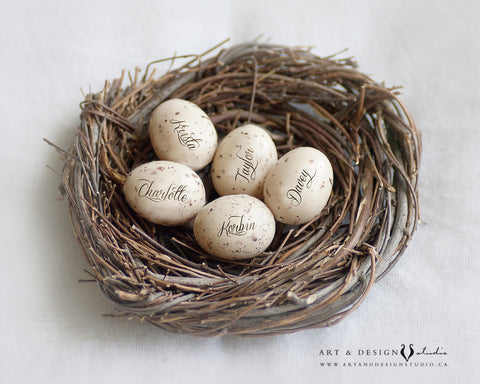 Personalized Name Nest