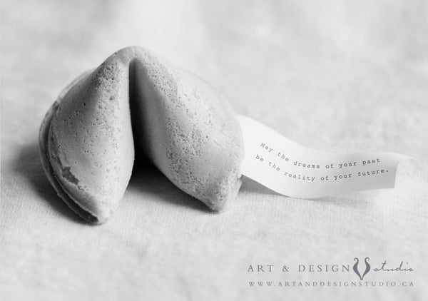 Fortune Cookie Print with Custom Message