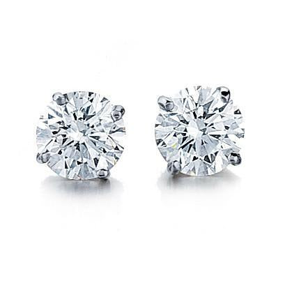Amore Diamond Stud Earrings