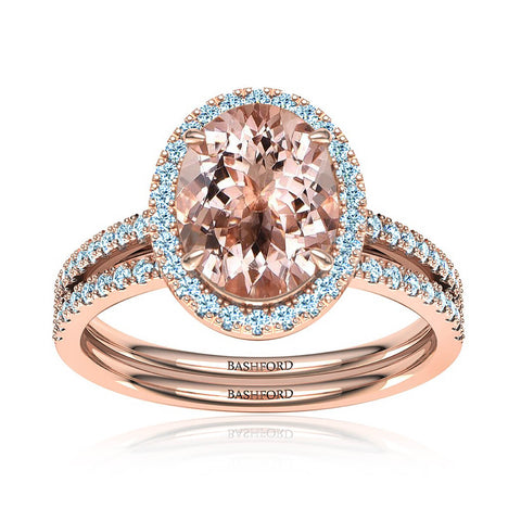 Love Story Halo Diamond Ring