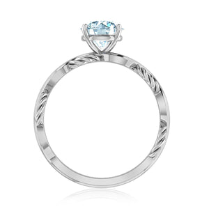Petite Twist Diamond Ring