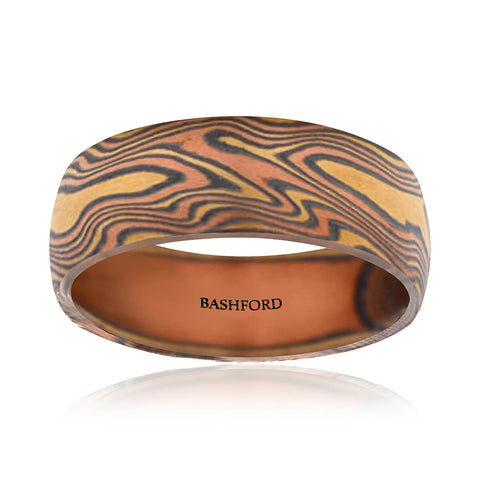 Everest Mokume Band (8 MM)