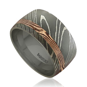 Black Forest Mokume Ring (9 mm)