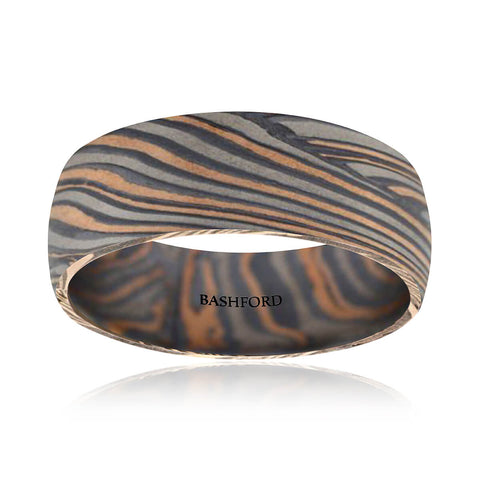 Guadalupe Mountains Mokume Band (7 MM)