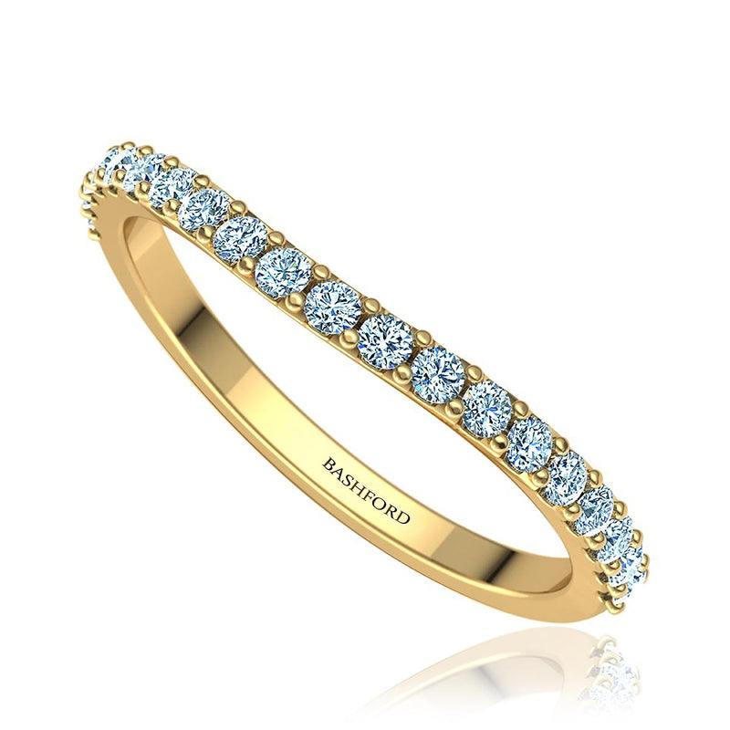 Classic Contoured Diamond Ring (1/4 ct. tw.)
