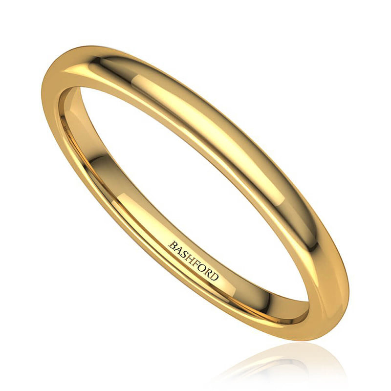 Classic Comfort Fit Wedding Ring
