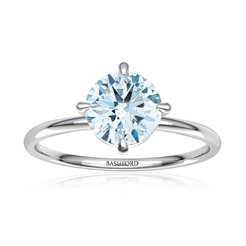 Channel Set Round Diamond Ring (1/3 ct. tw.)