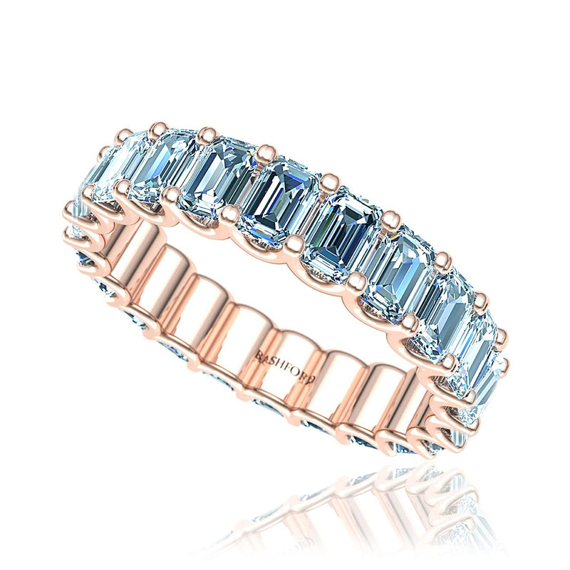Emerald Cut Diamond Eternity Ring  (2.0 ct. tw.)