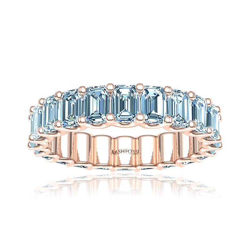 Emerald Cut Diamond Eternity Ring  (3.0 ct. tw.)