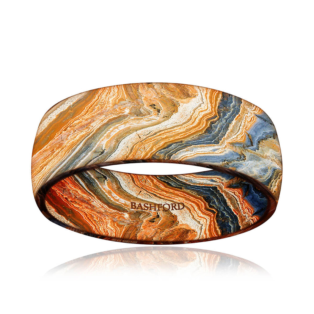 Grand Canyon Mokume Band (8 mm)