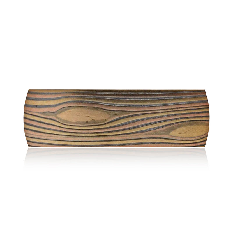 Grand Staircase-Escalante Mokume Band (7 MM)