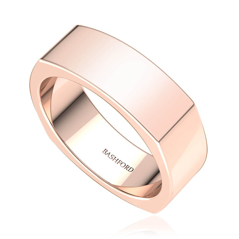 Square Comfort-Fit Band (7 mm)